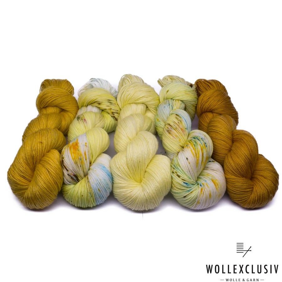 YARN MIX ∣  LEMON & MUSTARD