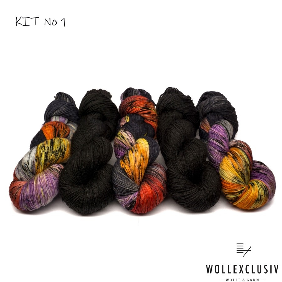 WOLLEXCLUSIV COLOR KIT ∣ SUNSET
