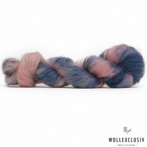 SILK MOHAIR LACE ∣ BLUE ROSES