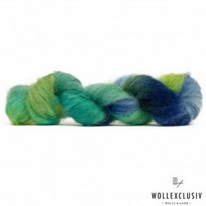 SILK MOHAIR LACE ∣ GREEN FLASH
