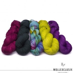 YARN MIX ∣ HOT PURPLE