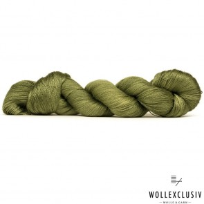 MULBERRY SILK LACE ∣ OLIVES
