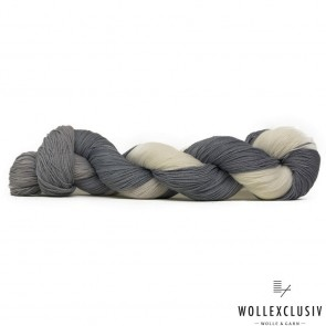 WOLLEXCLUSIV COTTON LACE ∣ WHITE AND GREY