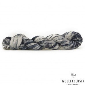 WOLLEXCLUSIV COTTON LACE ∣ BLACK STORM