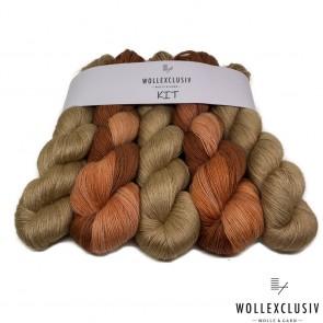 WOLLEXCLUSIV KIT ∣ SHINY NUTS