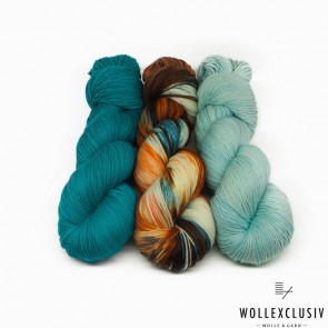 "WOLLEXCLUSIV KIT ∣ MERINO ""X"" SOCKS ∣ NIAGARAS"