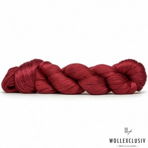 MULBERRY SILK LACE ∣ RED