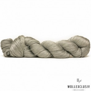 MULBERRY SILK LACE ∣ SILVER