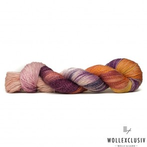 SILKY  SOCKS ∣ VIOLET SUNSET