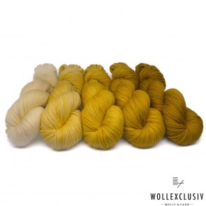 WOLLEXCLUSIV COLOR KIT DK ∣ MUSTARD
