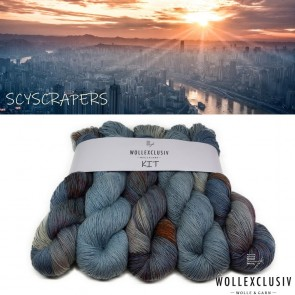 WOLLEXCLUSIV KIT ∣ BLUE SKYSCRAPERS