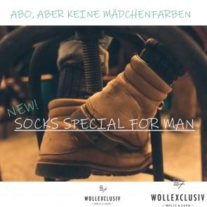 SOCKEN-WOLL ABO ∣ SOCKS SPECIAL FOR MAN