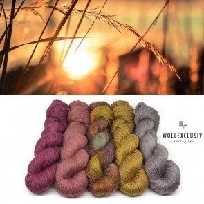 YARN MIX ∣ GOLD EVENING