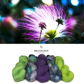 YARN MIX ∣ PURPLE WIND