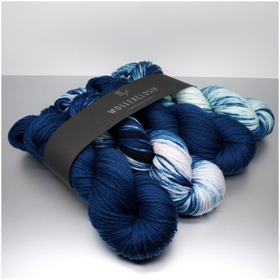 WOLLEXCLUSIV COLOR KIT DK ∣ BLUE WAVES