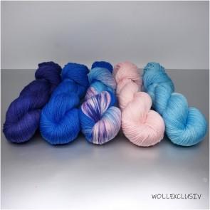 WOLLEXCLUSIV COLOR KIT ∣ ROMANTIC BLUES