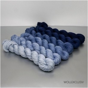 COLORWAY ∣ WOLLE FARBVERLAUF ∣ BLUEBERRY