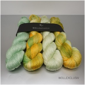 WOLLEXCLUSIV KIT I CHARTREUSE LEAVES