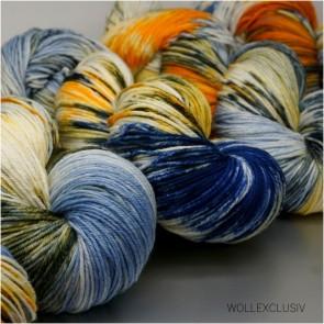 MERINO X SOCKS 6ply ∣ RUSTY BLUES