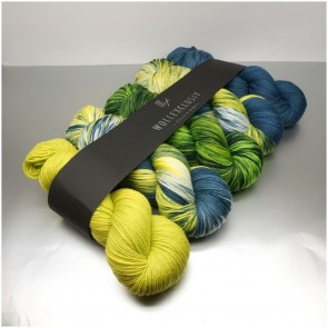 WOLLEXCLUSIV COLOR KIT ∣ MERINO X SOCKS 6ply ∣  LIZARD