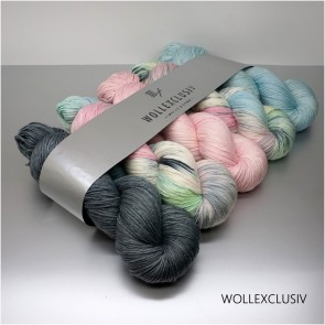 WOLLEXCLUSIV COLOR KIT ∣ MERINO X SOCKS 6ply ∣ SHABBY FOG