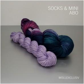 SOCKEN-WOLL ABO ∣ SOCKS & MINI