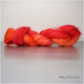 SILK MOHAIR LACE ∣ POPPY FLOWER