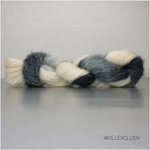 SILK MOHAIR LACE ∣ GUINEA FEATHER