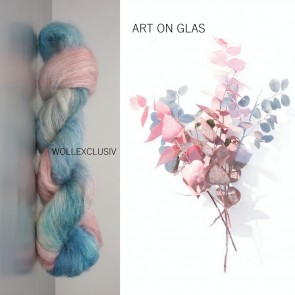 SILK MOHAIR LACE ∣ ART ON GLAS