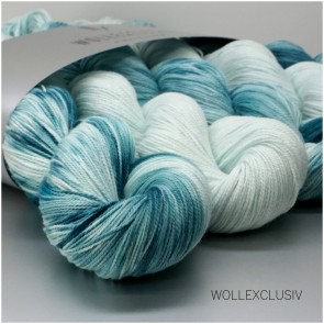 WOLLEXCLUSIV KIT COTTON LACE ∣ BLUE WINDOW