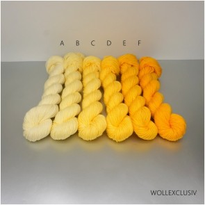 COLORWAY │ WOLLE FARBVERLAUF │ SUNFLOWER