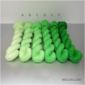 COLORWAY│WOLLE FARBVERLAUF│GREEN APPLE