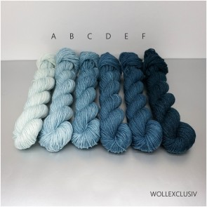 COLORWAY│ WOLLE FARBVERLAUF │ JEANS BLUE