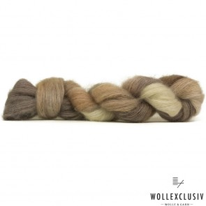 SILK MOHAIR LACE ∣ WOOD & CREAM