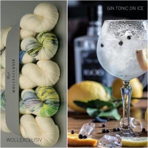 WOLLEXCLUSIV COLOR KIT ∣ MERINO X SOCKS 6ply ∣ GIN TONIC ON ICE