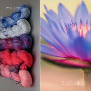 YARN MIX ∣ BLUE LILLY