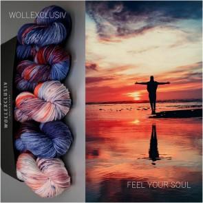 WOLLEXCLUSIV COLOR KIT ∣ MERINO X SOCKS∣ FEEL YOUR SOUL