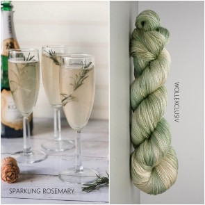 MULBERRY SILK LACE ∣ SPARKLING ROSEMARY