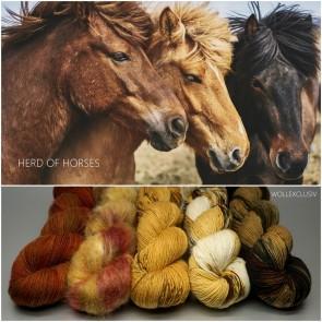 YARN MIX ∣ HERD OF HORSES