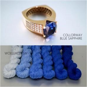 COLORWAY ∣ WOLLE FARBVERLAUF ∣ BLUE SAPPHIRE