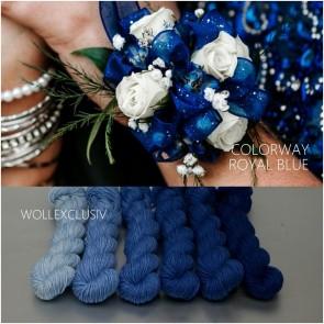 COLORWAY ∣ WOLLE FARBVERLAUF ∣ ROYAL BLUE