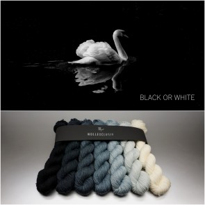 COLORWAY ∣ FARBVERLAUF ZUR WAHL ∣ BLACK OR WHITE