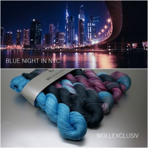 WOLLEXCLUSIV KIT COTTON LACE ∣ BLUE NIGHT IN NYC