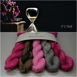 WOLLEXCLUSIV KIT COTTON LACE ∣ IT´S TIME