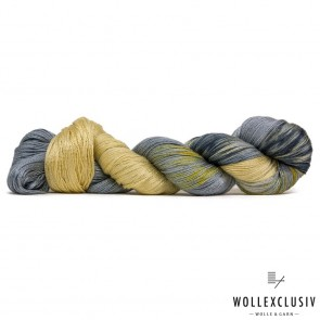MULBERRY SILK LACE ∣ GOLD MEETS SILVER