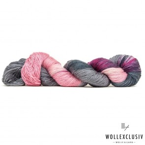 MULBERRY SILK SINGLE ∣ GREY & ROSÉ