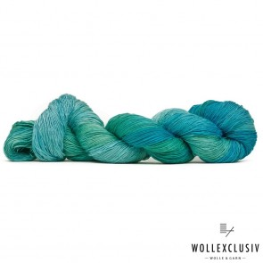 MULBERRY SILK SINGLE ∣ AQUAMARINA