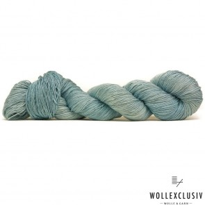 MULBERRY SILK SINGLE ∣ HEAVENLY BLUE