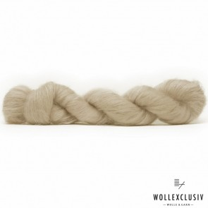 SILK MOHAIR LACE ∣ CHAMPAGNER