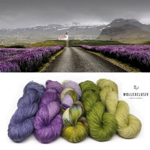 WOLLEXCLUSIV COLOR KIT ∣ LUPINES IN ICELAND